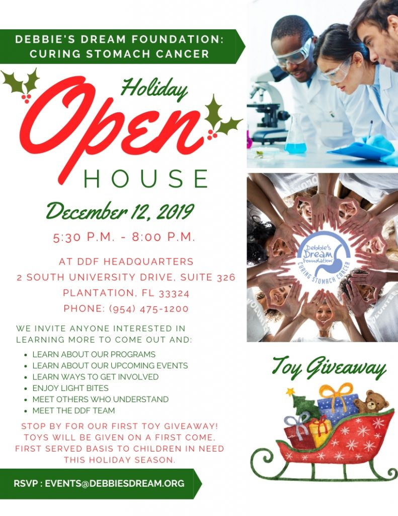 DDF Holiday Open House Flyer - December 2019
