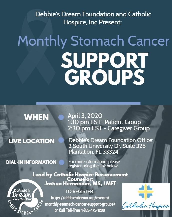 Support Group Flyer-April 2020