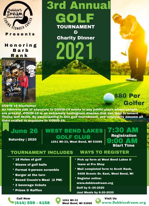 2021 DDF WI Golf