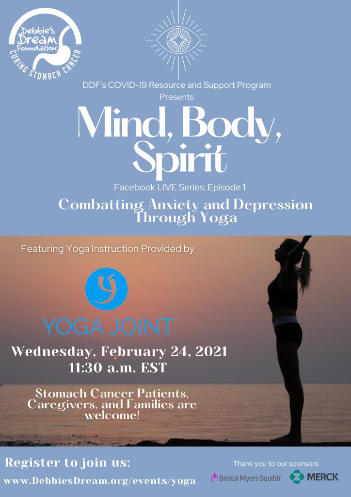 Mind, Body, Spirit Series Flyer - Yoga 4